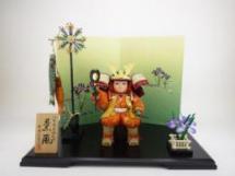 子供大将 「薫風シリーズ・勇」オリジナル屏風飾りセット