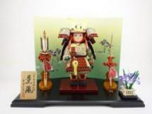 子供大将 「薫風シリーズ・翔」オリジナル屏風飾りセット